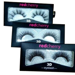 Red cherry black natural 3D thick long every eye- lashes Diffrent Multi Shade